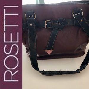 Rosettio Leather Shoulder Bag